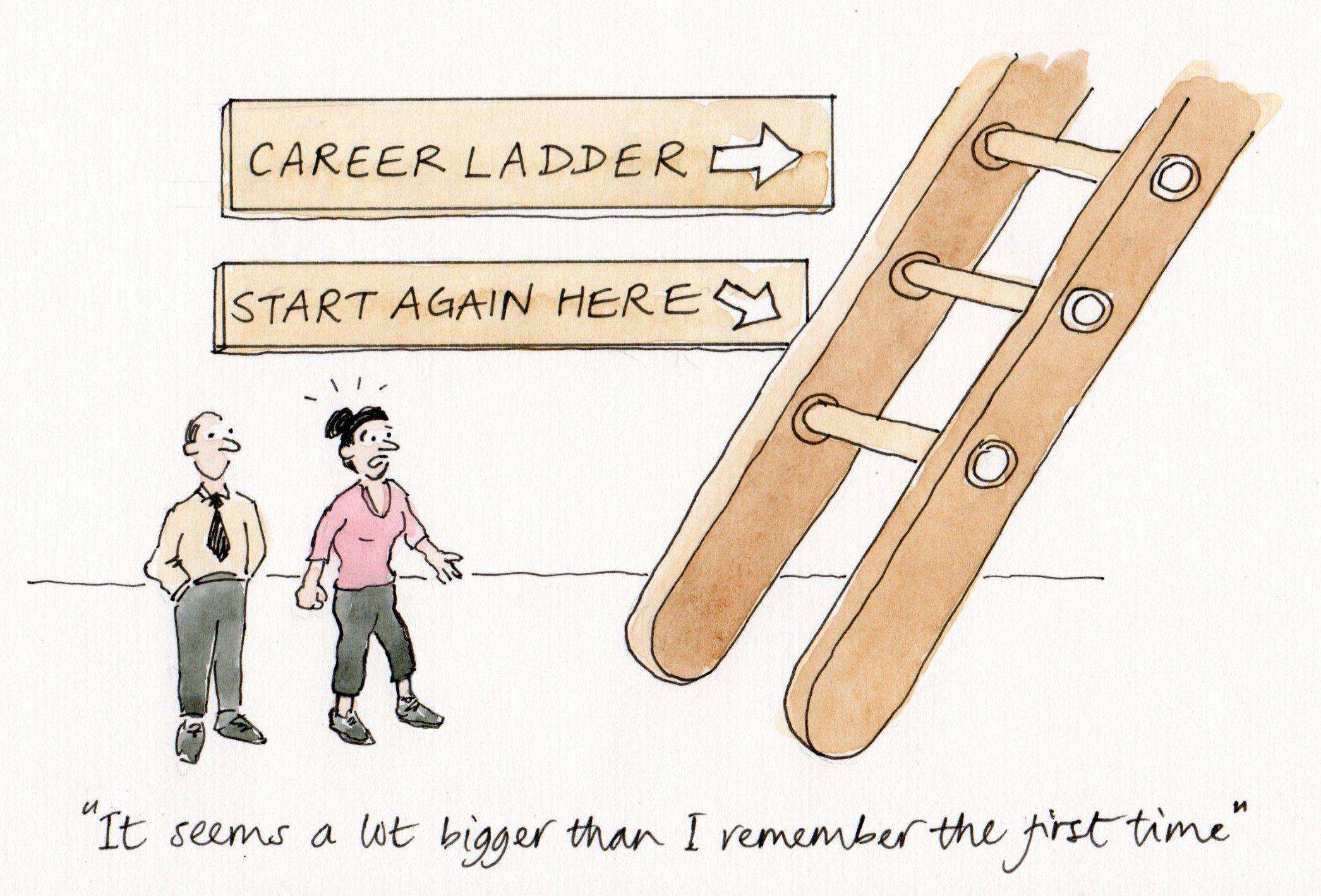 cartoon-14-career-ladder